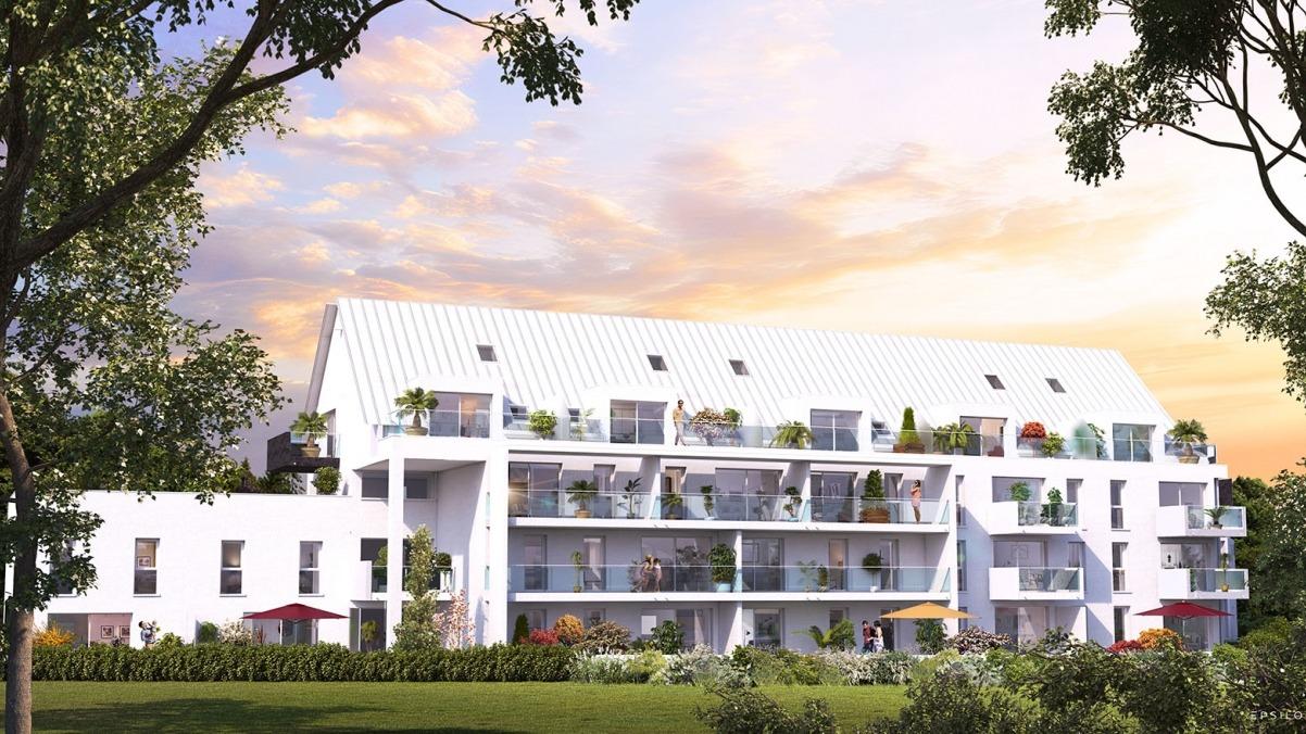 Appartement T3 résidence Philéas investissement Pinel régulé L'Hermitage