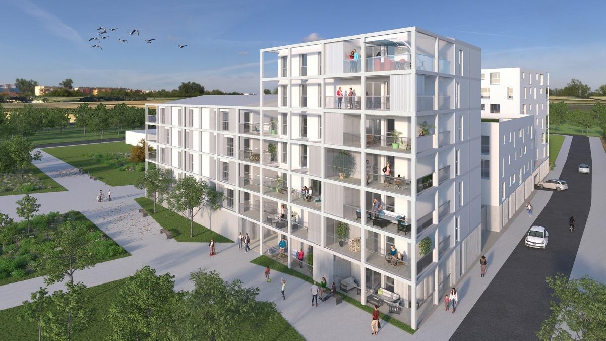Appartement T4 neuf BRS Rennes - résidence Boréale