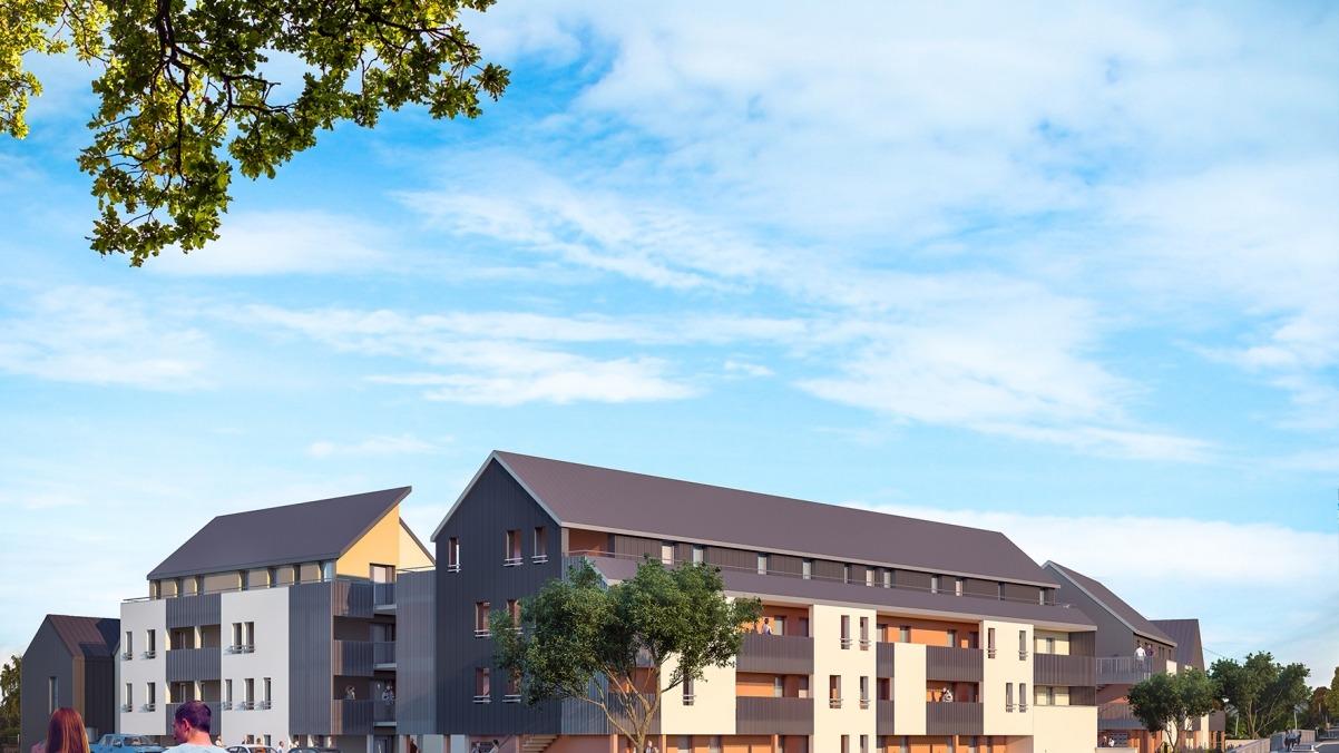Appartement neuf T4 PSLA Résidence Les Clématites à Janzé
