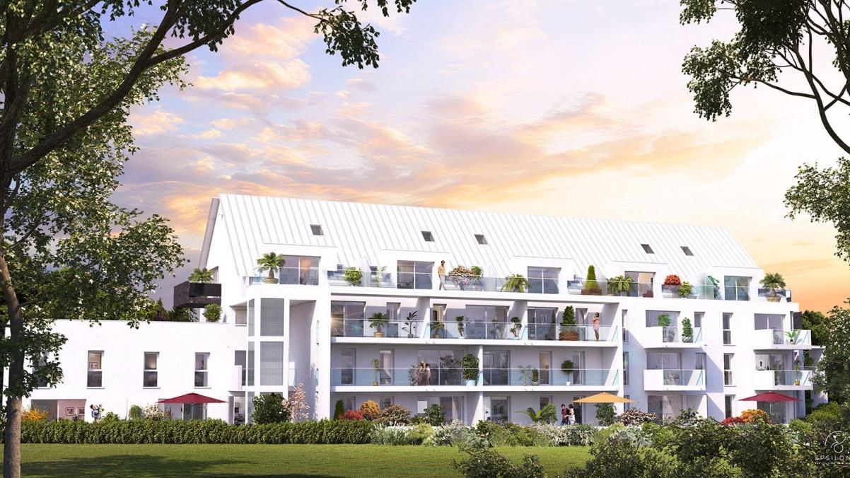 Appartement T2 neuf résidence Philéas à L'Hermitage, éligible Pinel