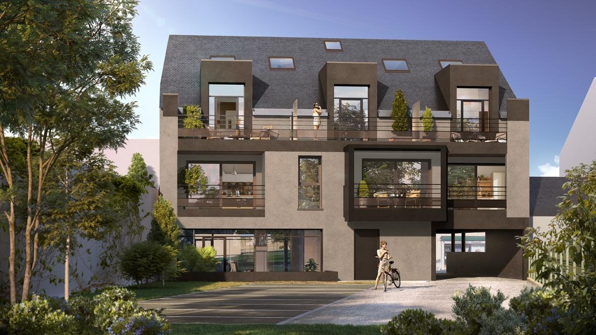Résidence Le 6 à L'Hermitage - 6 appartements T2, T3, T4 Duplex (zone Pinel)