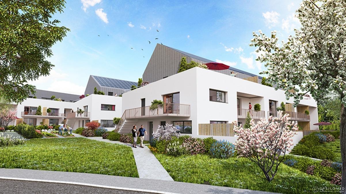 Appartement T3 Duplex Résidence Phébus de Melesse