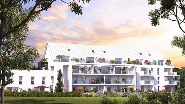 Appartement T4 duplex neuf résidence Philéas à L'Hermitage, éligible Pinel