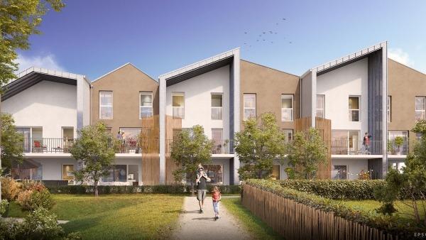 Résidence Les Tamaris à Châteaubourg, 36 appartements neufs T2, T3, T4