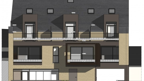 Appartement T2 Résidence Le 6 pour investir en centre-ville L'Hermitage (Pinel)