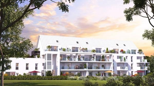 Appartement neuf au 2ème étage de la résidence Philéas de L'Hermitage, éligible Pinel