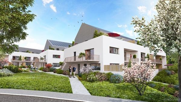 Appartement neuf T4 Duplex - résidence Phébus de Melesse
